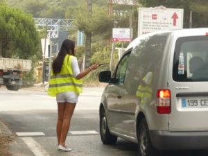 opération street marketing hôtesses Sophia Antipolis Antibes