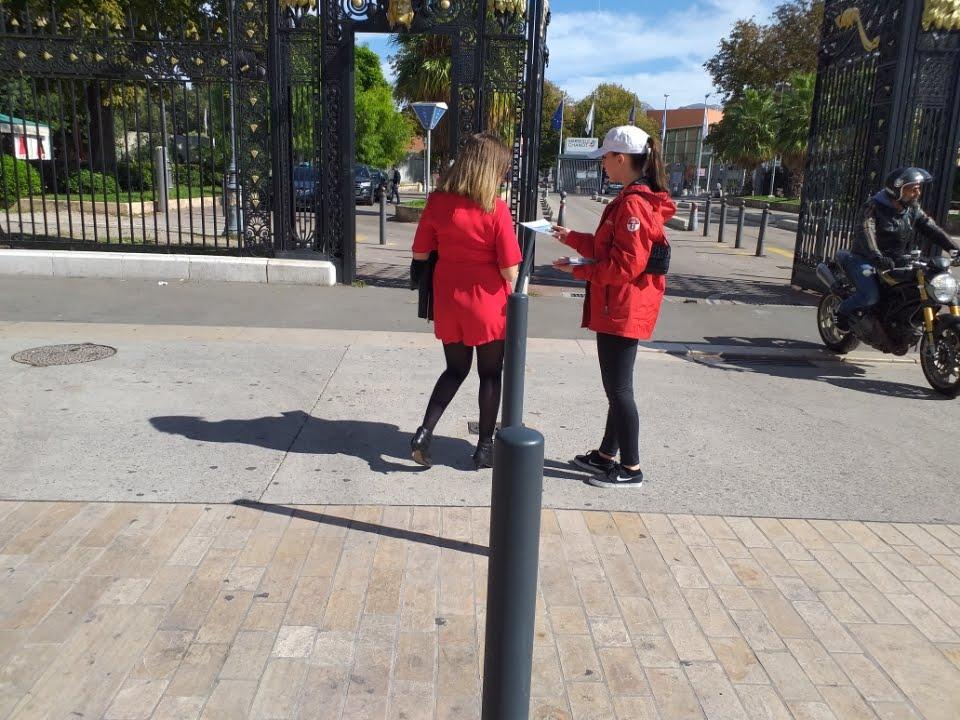 opération hôtesses salon de l'immobilier parc Chanot Marseille