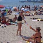 opération street marketing hôtesses sur plage Saint-Cyr-sur-Mer