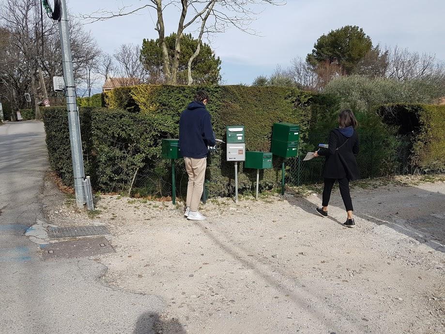 distribution boites aux lettres en campagne