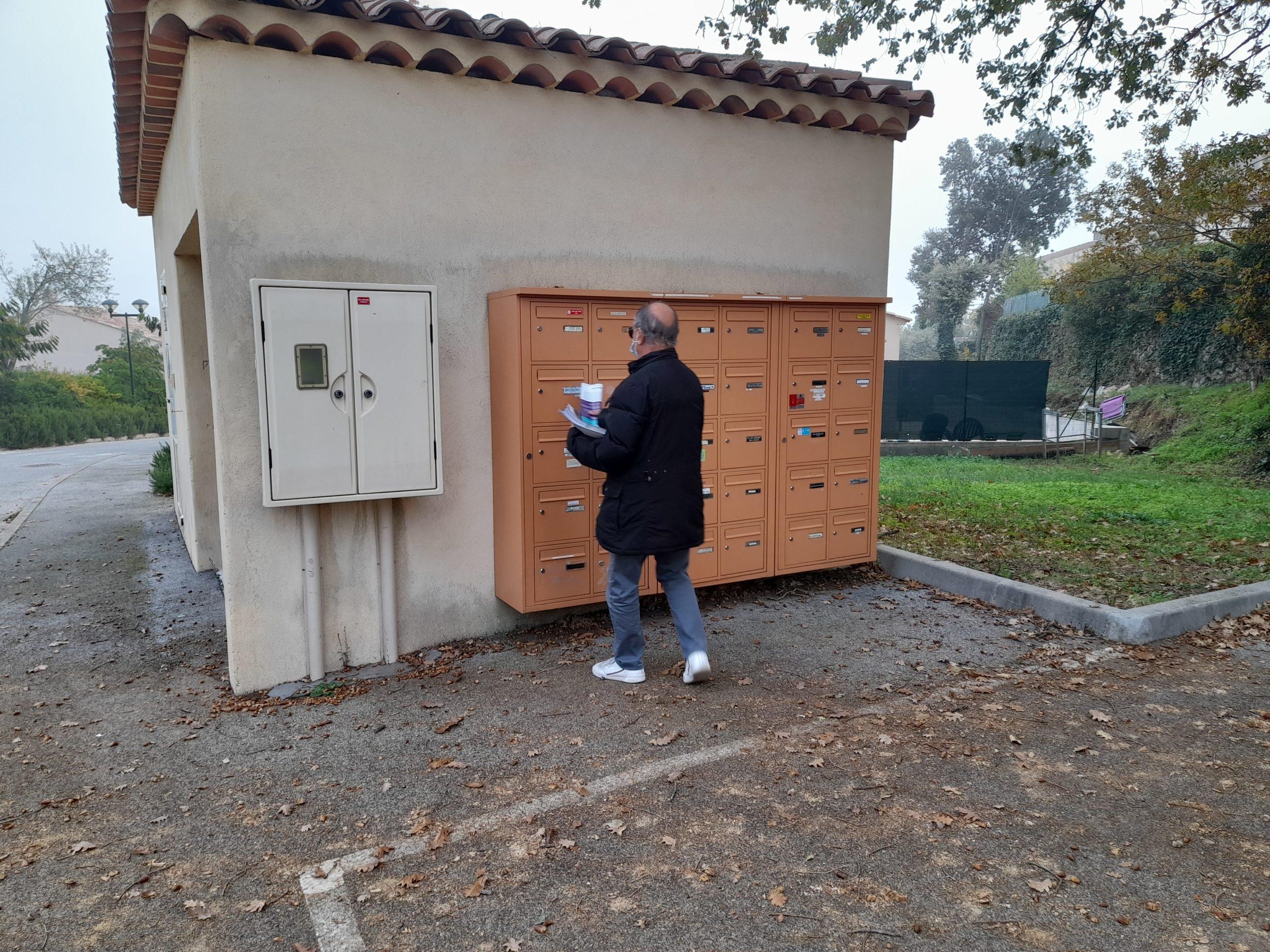 distribution cedex entrée résidence