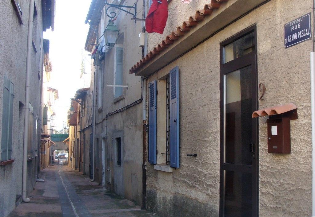 rue du village des Olives