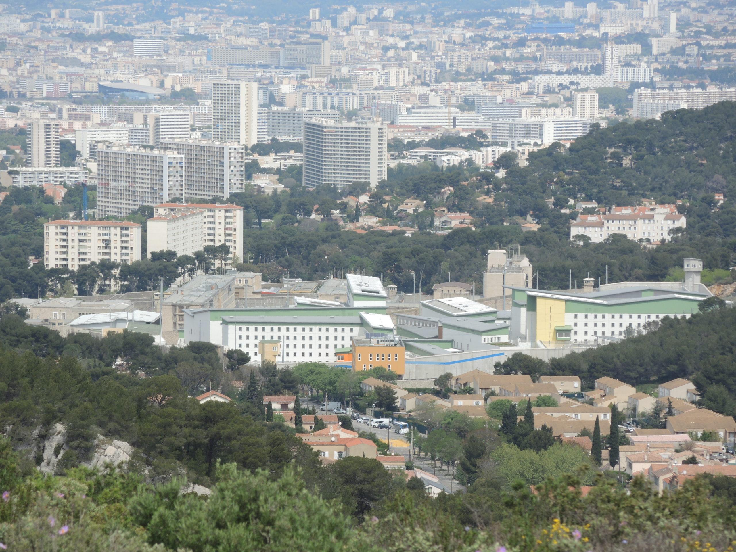 Distribution d'imprimés Marseille La Prison des Baumettes