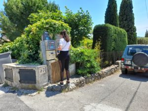 distribution chemin rural Ollioules