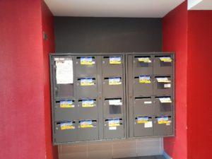 distribution cedex hall d'immeuble Marseille 14e