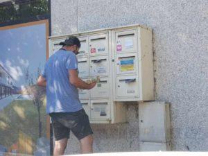 distribution d'imprimés publicitaires à Venelles par un de nos distributeurs sur un cedex