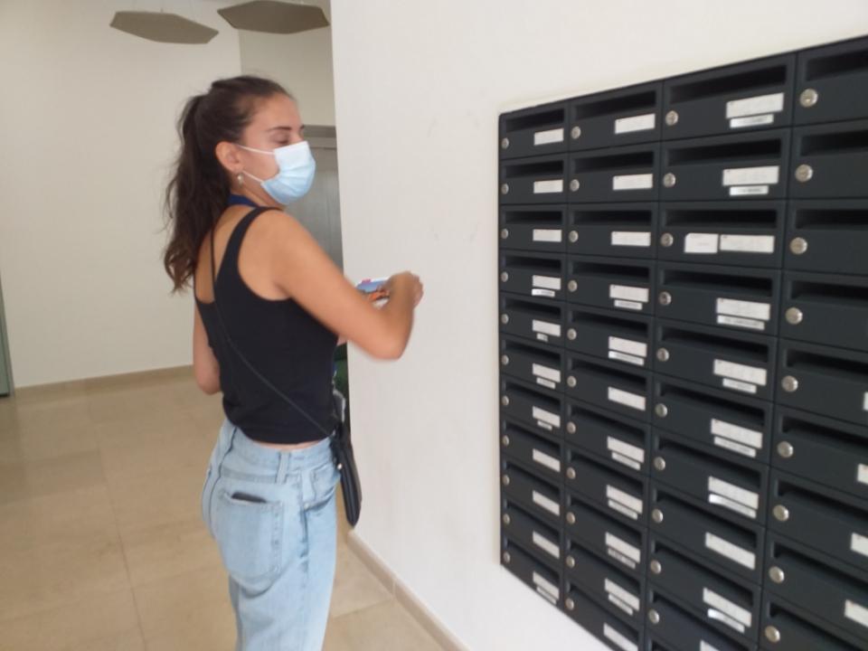 distribution en boites aux lettres aix-en-provence dans une résidence étudiant